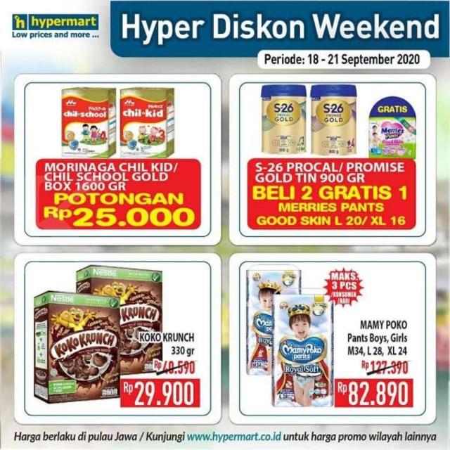 Promo JSM Hypermart, Periode 18-21 September 2020 (86401)