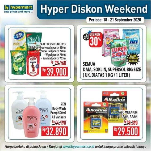 Promo JSM Hypermart, Periode 18-21 September 2020 (86402)
