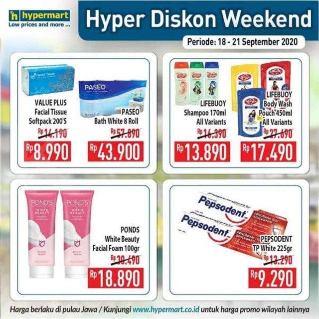 Promo JSM Hypermart, Periode 18-21 September 2020 (86403)