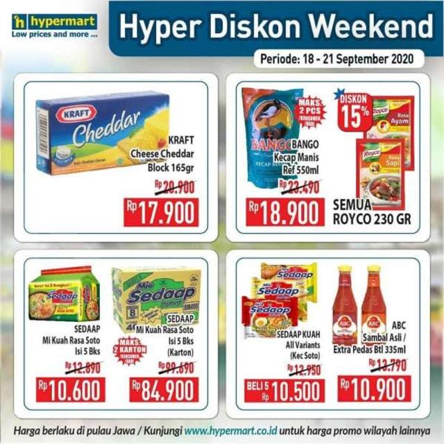 Promo JSM Hypermart, Periode 18-21 September 2020 (86404)