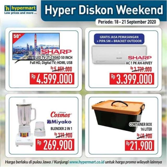 Promo JSM Hypermart, Periode 18-21 September 2020 (86405)