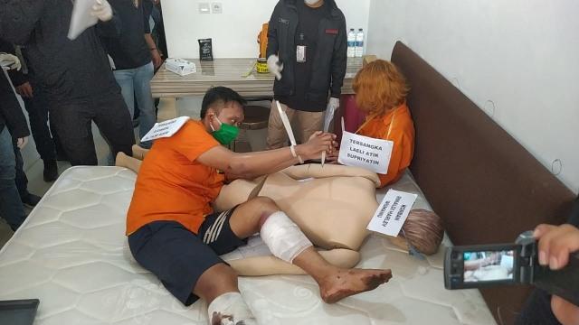 Laeli dan Djumadil Mutilasi Rinaldi Selama 2 Hari Lalu Dibawa ke Kalibata City  (30759)