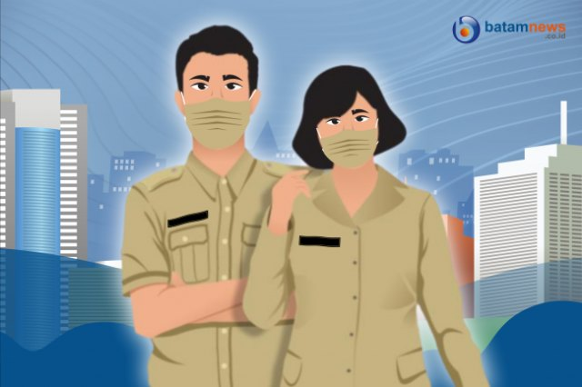 Pegawai Pemko Batam WFH Lagi Gegara Melonjaknya Kasus Corona (40095)