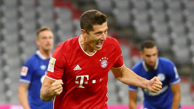 Robert Lewandowski Torehkan Rekor Baru di Bundesliga (3406)