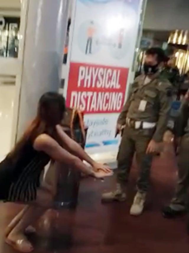 Razia Masker di Manado Jadi Sorotan Karena Hukuman Squat Jump (44485)