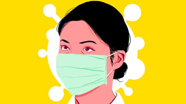 Razia Masker di Manado Jadi Sorotan Karena Hukuman Squat Jump (44486)