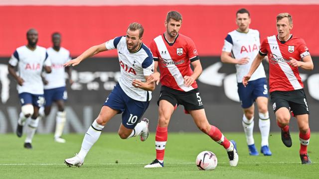 Southampton vs Tottenham Hotspur: 4 Gol Son Heung-min Bawa Spurs Raih Tiga Poin (33331)