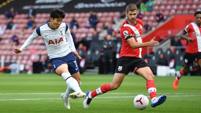 Southampton vs Tottenham Hotspur: 4 Gol Son Heung-min Bawa Spurs Raih Tiga Poin (33328)