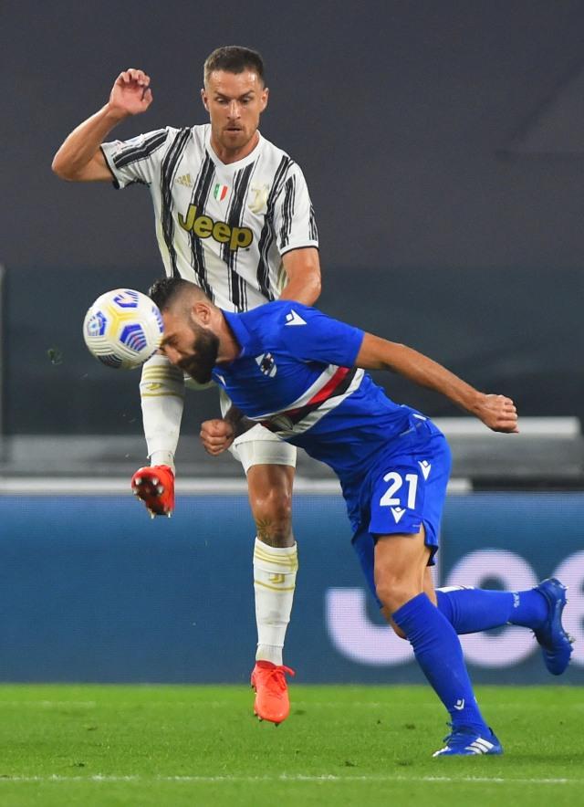 Juventus vs Sampdoria: Bianconeri Menang, Debut Pirlo Berujung Manis  (33587)