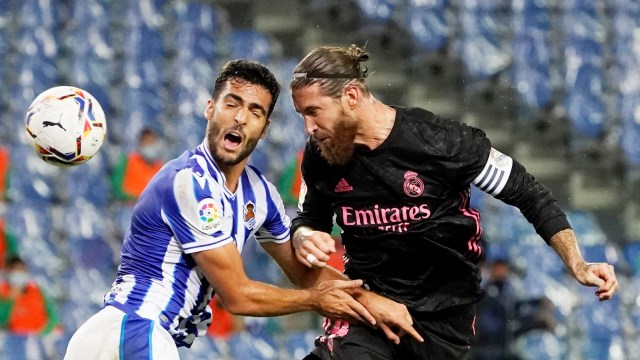 Foto: Real Madrid Curi 1 Poin di Markas Real Sociedad (15495)