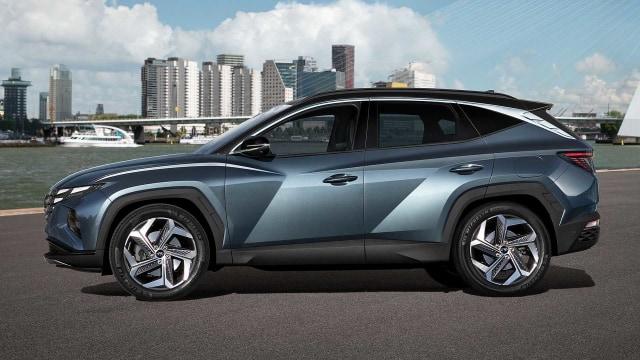 Hyundai Tucson Terbaru Meluncur, Punya Wajah Futuristik (72087)