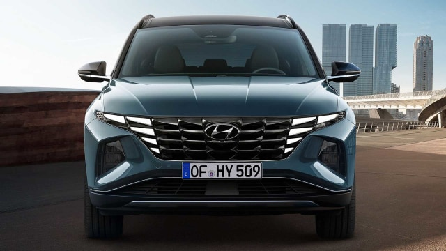 Hyundai Tucson Terbaru Meluncur, Punya Wajah Futuristik (72086)