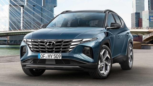 Hyundai Tucson Terbaru Meluncur, Punya Wajah Futuristik (72084)
