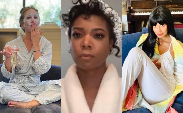 Pakai Piyama hingga Jubah Mandi, Ini Gaya Unik 5 Selebriti di Emmy Awards 2020 (14449)