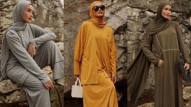 Dauky & Ana Octarina Hadirkan Baju Muslim hingga Hijab untuk Santai di Rumah (23863)