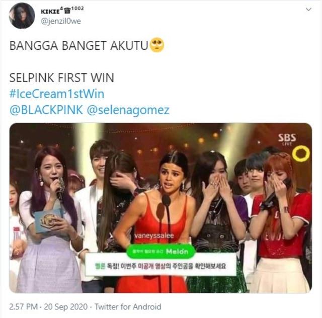 Inkigayo Jadi Program Musik Korea Pertama yang Menangkan Selena Gomez (224153)