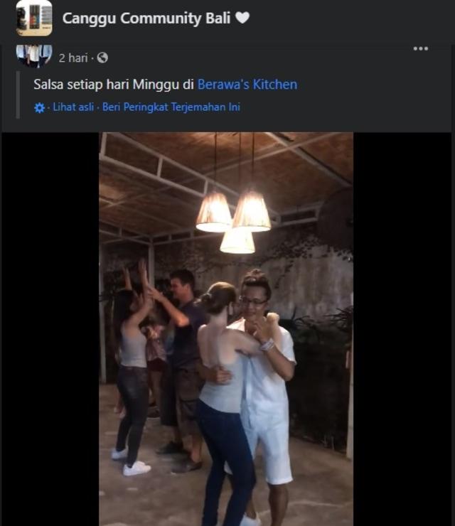 Viral Sekelompok WNA di Bali Tari Salsa di Restoran, Abaikan Protokol Kesehatan (29865)
