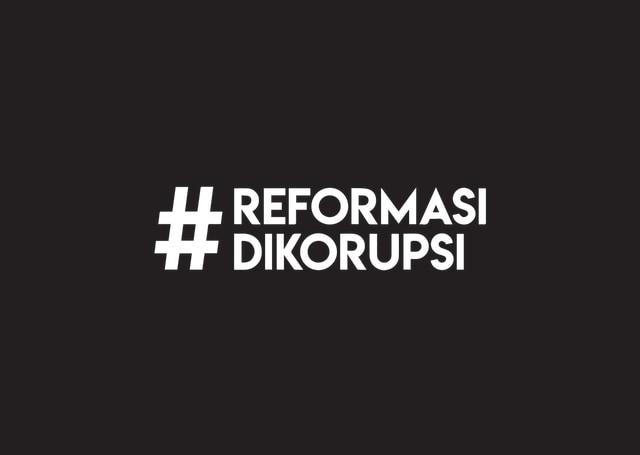 1 Tahun Aksi #Reformasidikorupsi, Jadi Apa? (39691)