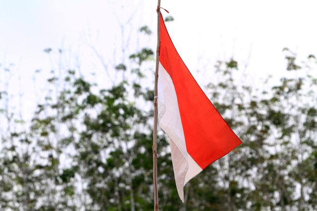 Polda Aceh Bergerak Cari Pria Pembakar Bendera Merah Putih (107287)