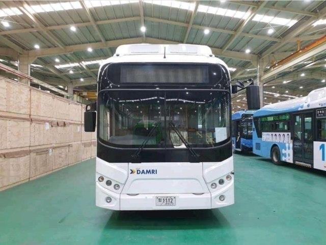 Damri Siap Uji Coba Bus Listrik Asal Korea Selatan (40293)