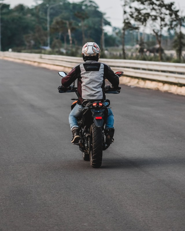 Foto: Gaspol KTM 390 Adventure di Trek Tanah (15194)