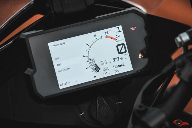 Foto: Gaspol KTM 390 Adventure di Trek Tanah (15219)