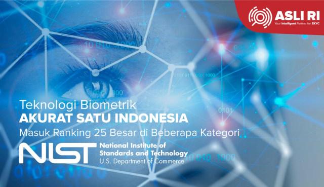 Teknologi Biometrik Buatan Indonesia Ini Masuk Top 25 Paling Akurat di Dunia (148556)