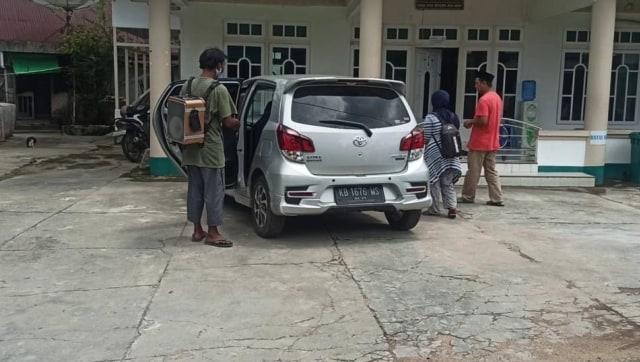 Dua pengamen kedapatan gunakan mobil setelah selesai bekerja