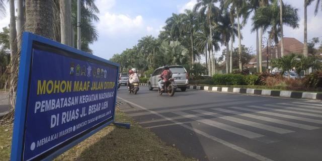 Besok, Jalan Ijen dan Veteran di Malang Resmi Tutup (1098)