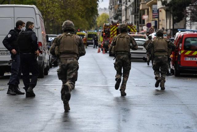 Terduga Pelaku Serangan di Eks Kantor Charlie Hebdo Ditangkap (254478)