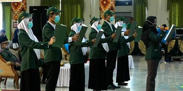 Sebanyak 5069 Mahasiswa UIN Raden Intan Lampung TA 2020/2021 Resmi Dikukuhkan (590582)