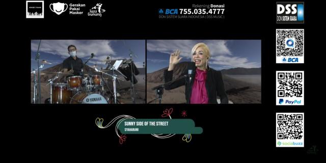 Dimeriahkan Andien, Jazz Gunung Virtual Kumpulkan Donasi Lebih dari Rp 65 Juta (317337)