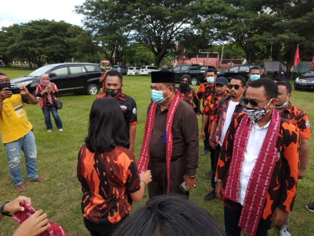 Pemuda Pancasila Halmahera Utara Kawal Proses Pilkada Damai (39904)