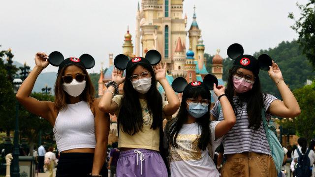 Disneyland California Buka Lagi 1 April, Jumlah Pengunjung Dibatasi (258642)