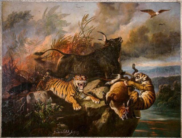 Piagam Katiden 1390 dan Raden Saleh 1862, Sang Pemula Konservasi Alam Indonesia (71740)