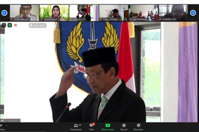 Musyawarah Daerah Kwarda Daerah Istimewa Yogyakarta Bertekad Perkuat Bela Negara (4869)