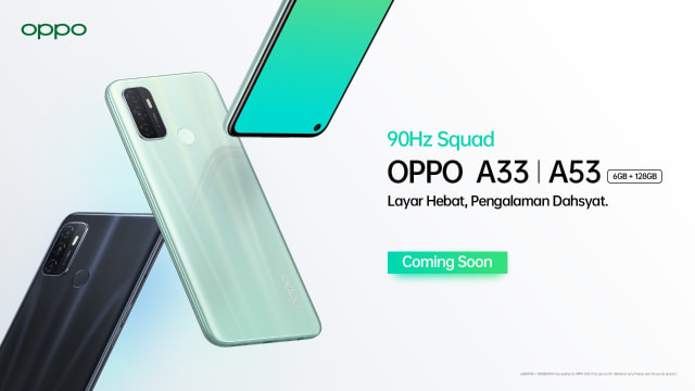 Oppo A33 Resmi Rilis di Indonesia, HP Layar 90 Hz Harga Rp 2,3 Juta (27101)