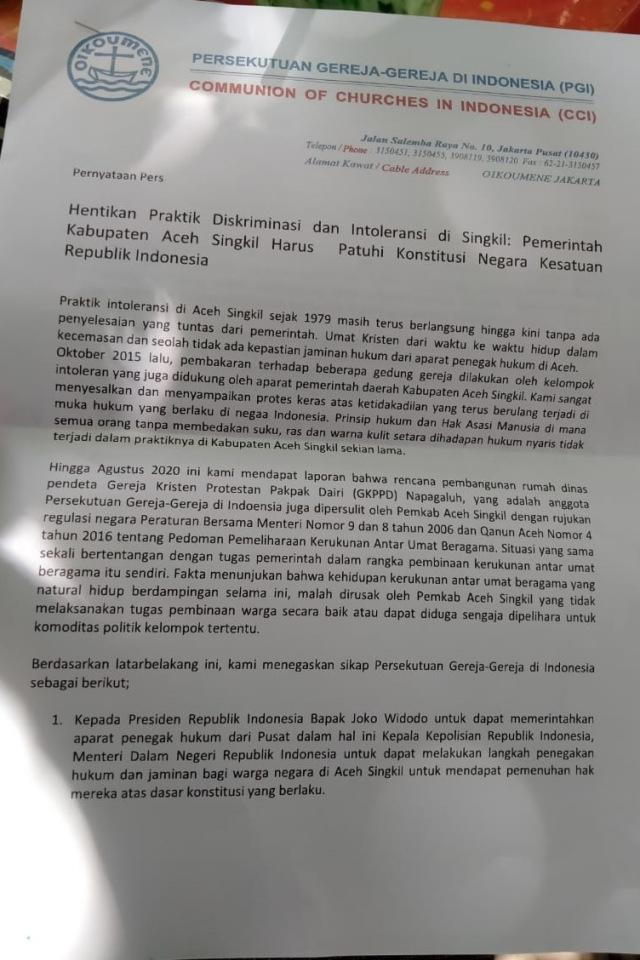FKUB Aceh Tangkis Isu Miring, Tegaskan Tak Ada Diskriminasi Umat di Aceh Singkil (134745)