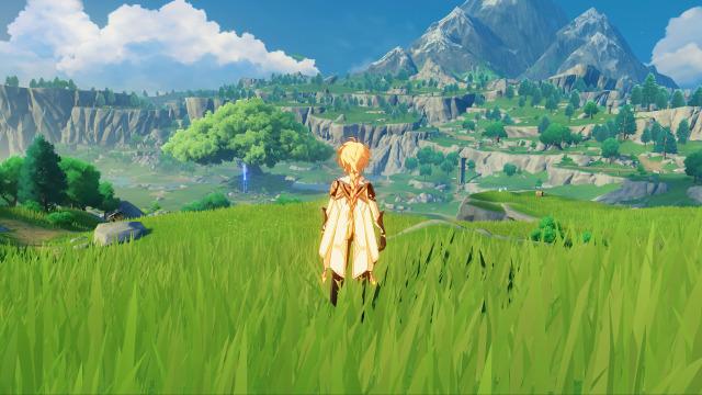 Genshin Impact Resmi Rilis Di Ps4 Pc Hp Game Gratis Mirip Zelda Botw Kumparan Com