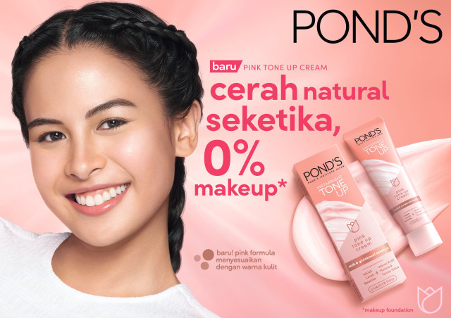 Pond's Tone Up Cream Untuk Kulit Berjerawat  BPOM