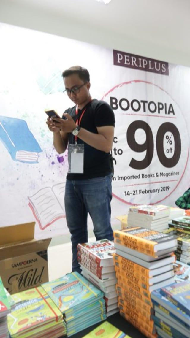Periplus kembali Gelar Bootopia 2020: Ada Diskon Buku Hingga 90% (285540)