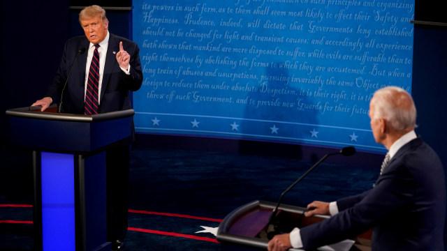 Debat Kedua Pemilu AS pada 15 Oktober Dibatalkan (512167)