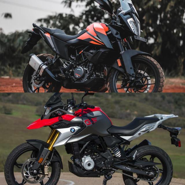 Komparasi Spesifikasi dan Fitur KTM 390 Adventure vs BMW G 310 GS, Unggul Mana? (170171)