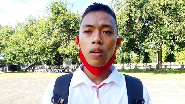 Viral Anak Nelayan di Sulsel Naik Perahu untuk Ikuti Seleksi TNI AL  (505820)