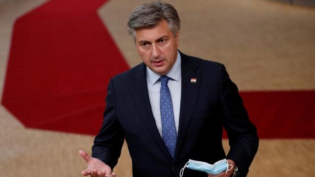 PM Kroasia Positif Corona, Jalani Isolasi 10 Hari (497111)