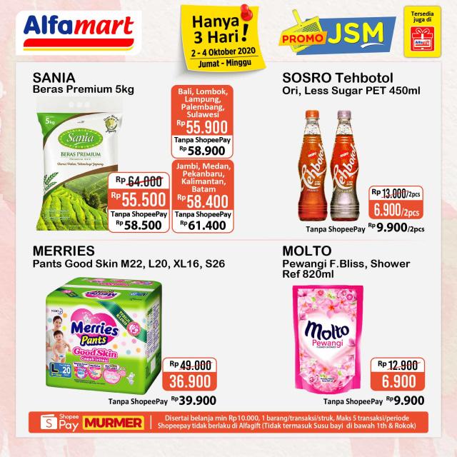 Promo Jsm Alfamart Periode 2 4 Oktober 2020 Kumparan Com