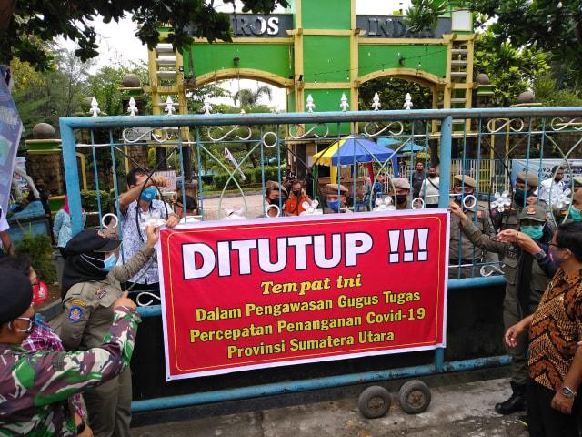 Viral Party di Kolam Renang Saat Pandemi, Satgas COVID-19 Tutup Hairos Waterpark (67000)