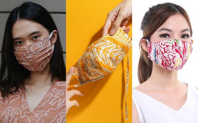 Hari Batik Nasional, Ini 7 Rekomendasi Masker Kain Batik untuk Tampil Gaya (392944)
