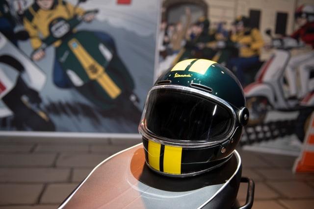 Foto: Melihat Lebih Dekat Vespa Sprint 150 dan GTS 300 HPE Racing Sixties (19837)