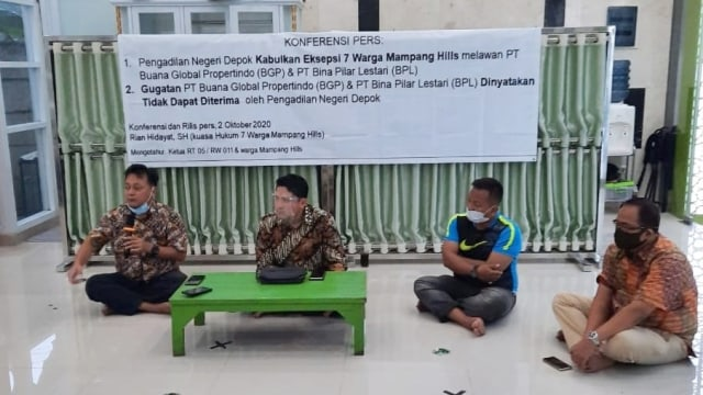 Kisah Warga Mampang Hills Depok yang Digugat karena Tak Bayar Uang Lingkungan (107422)